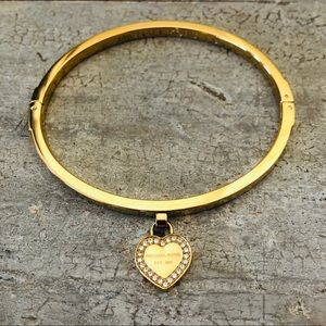 ♥️ Michael Kors ♥️ Gold & Diamond Heart Bracelet